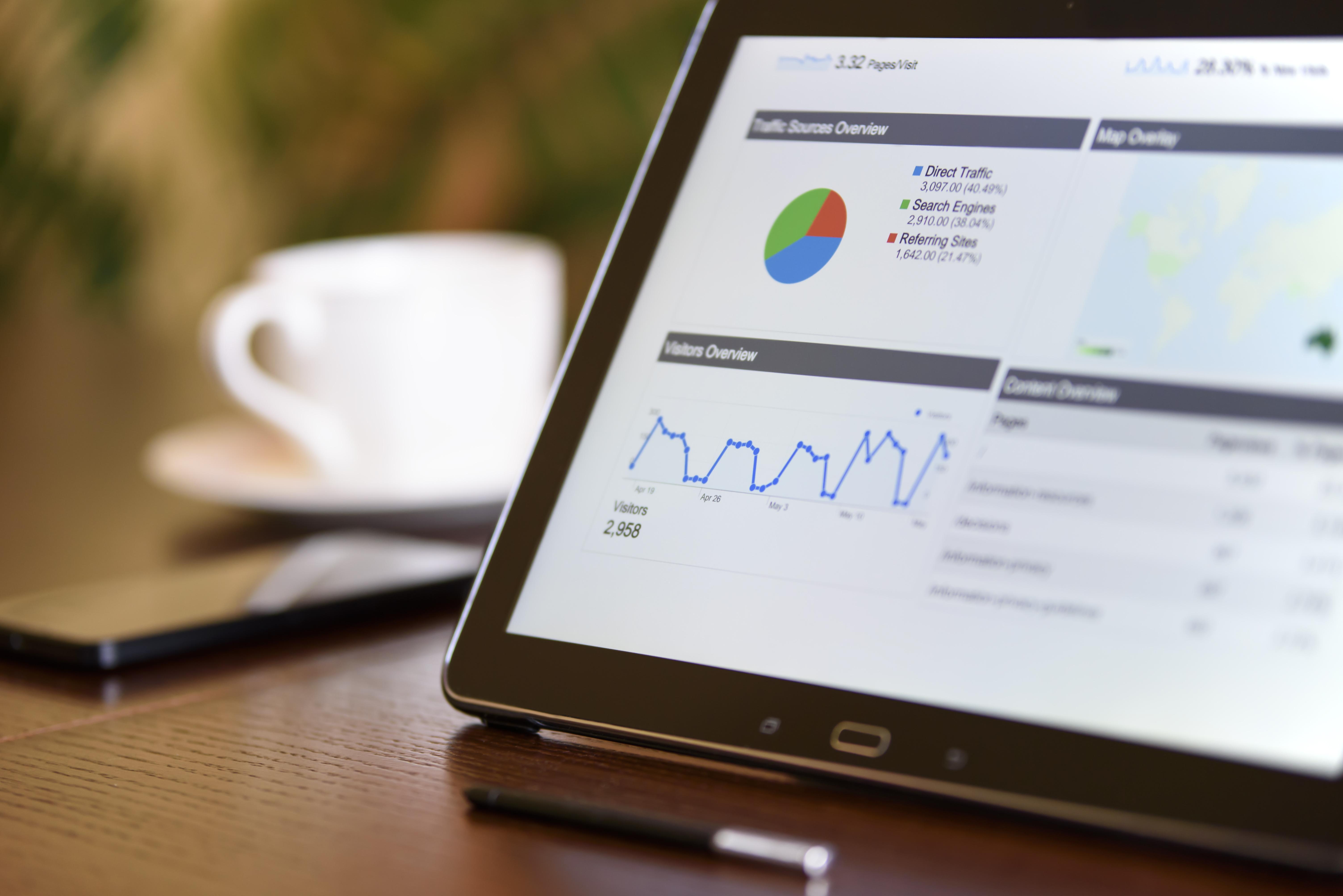 Data van je bedrijf analyseren door middel van je analytics