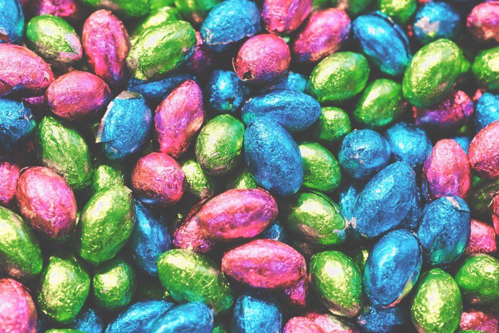 chocolade paaseitjes als relatiegeschenk