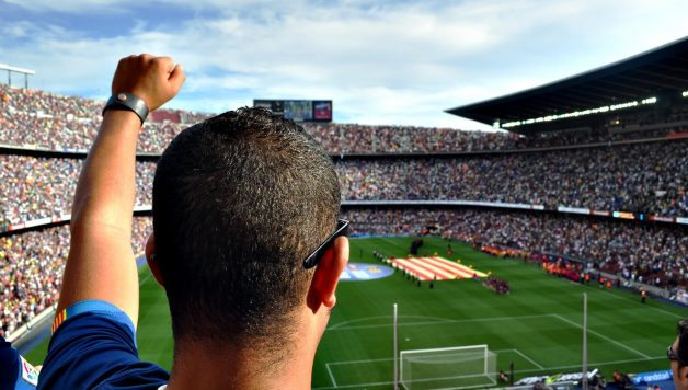 een voetbaltrip als bedrijfsuitje