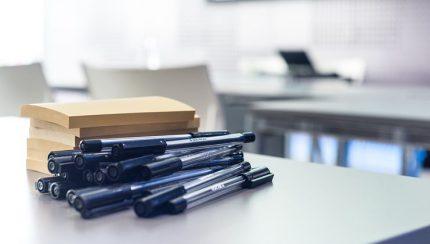 pennen bedrukken bij verhuizing naar nieuw bedrijfspand